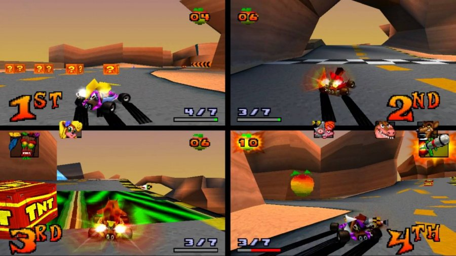 Crash Team Racing Review - Screenshot 1 of 6