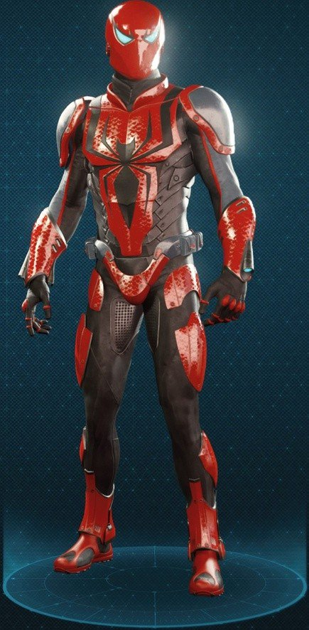 Spider Armour - MK III Suit