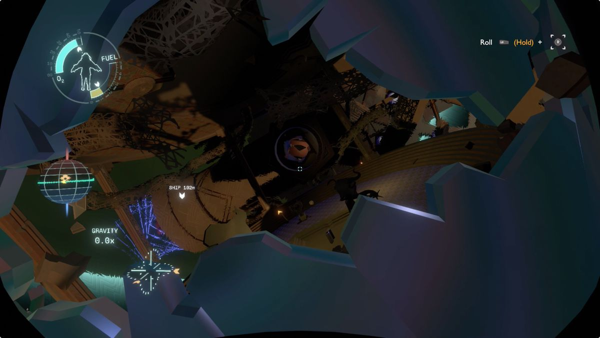 Outer Wilds Giant's Deep Orbital Probe CannonLaunch Module