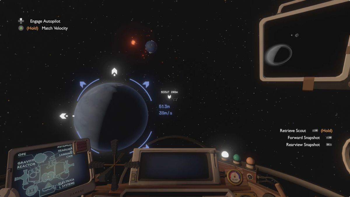 Outer Wilds Tower of Quantum Knowledge and Quantum Moon
