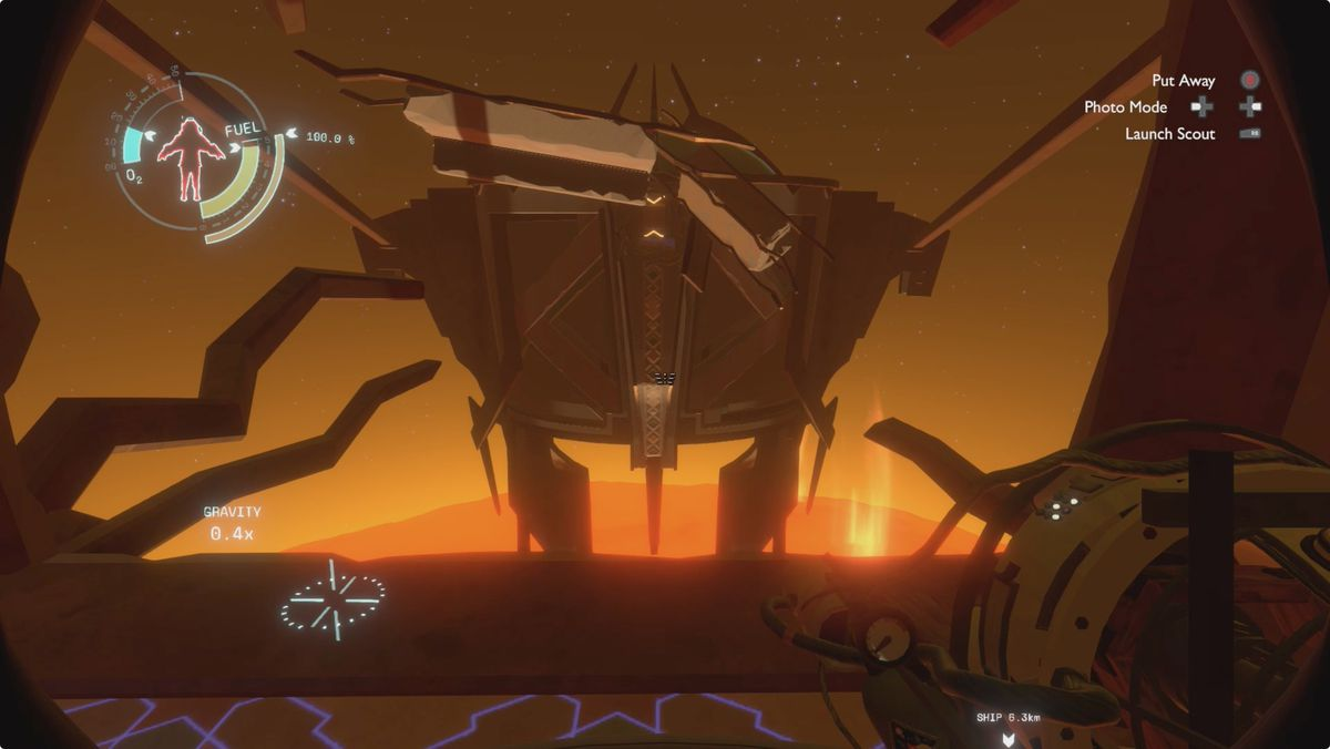 Outer Wilds Ash Twin Sun Station