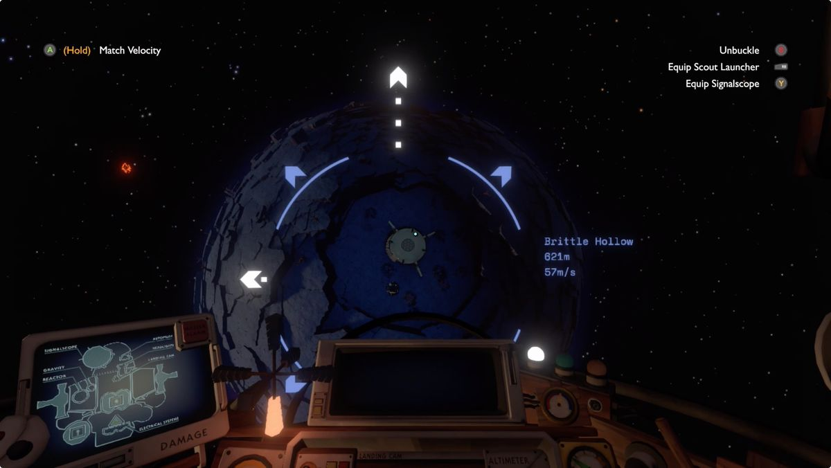 Outer Wilds Brittle Hollow Tower of Quantum Knowledge