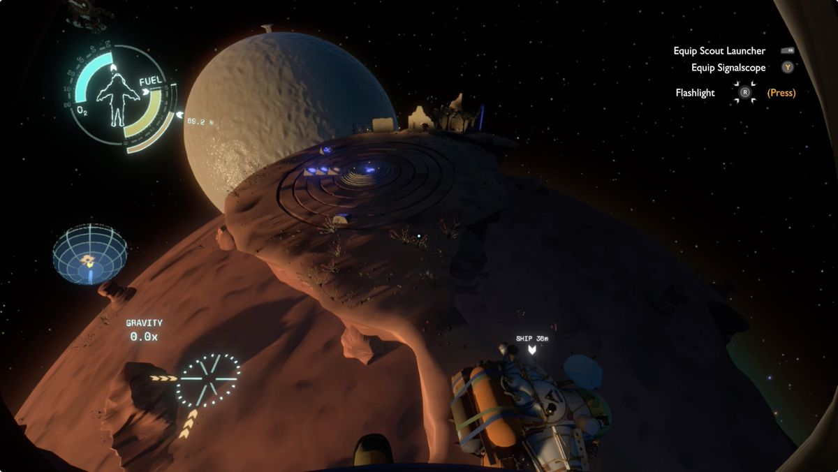 Outer Wilds Ember Twin Quantum Moon Locator