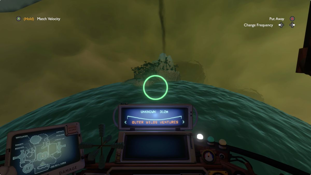 Outer Wilds Giant's Deep Gabbro's Island