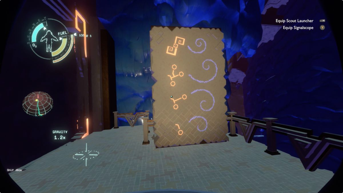 Outer Wilds Brittle Hollow Hanging City directory