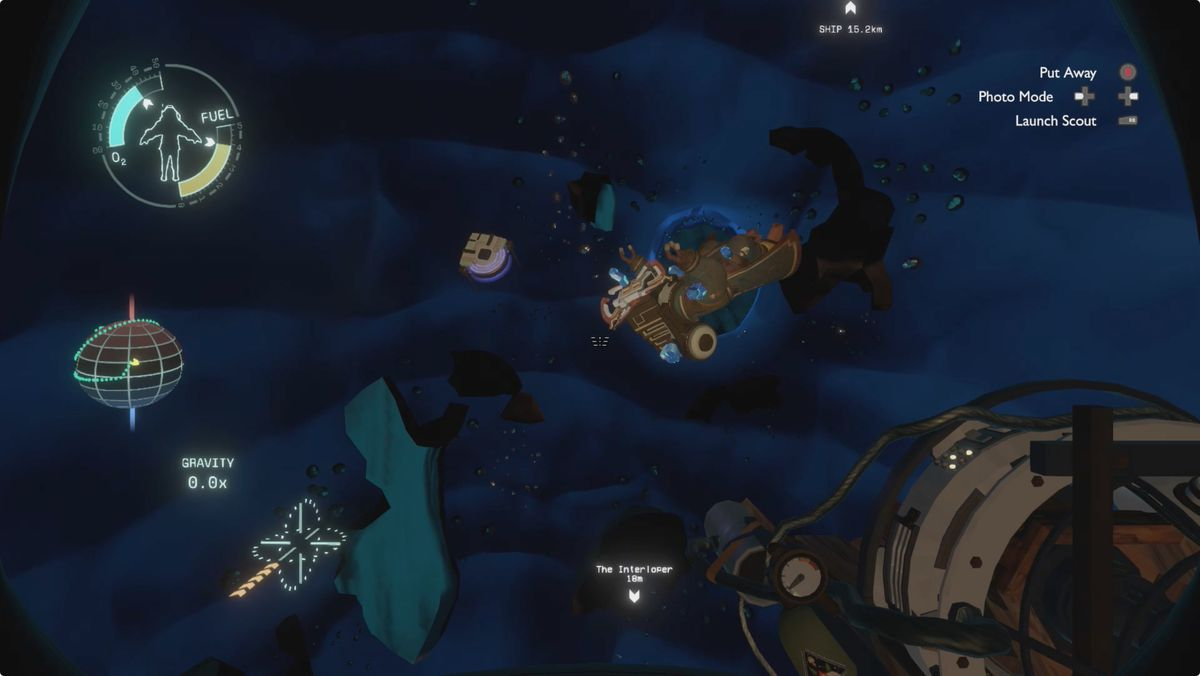 Outer Wilds guide The Interloper Ruptured Core