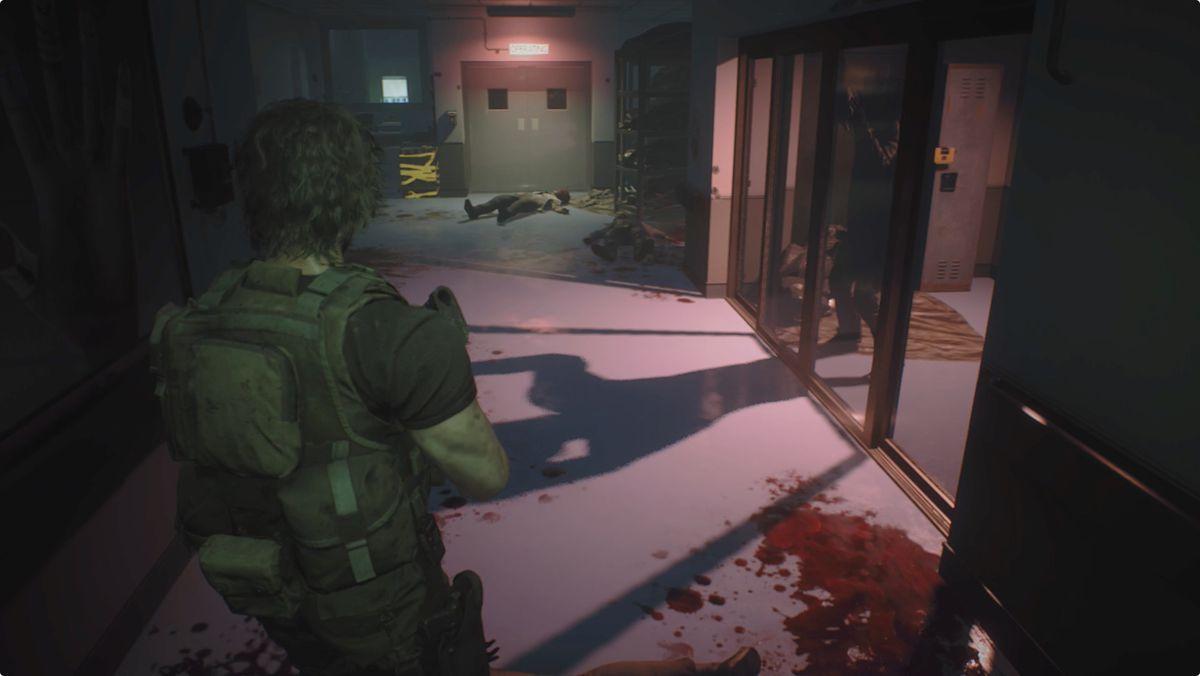 Resident Evil 3 Carlos Hospital Emergency Entrance