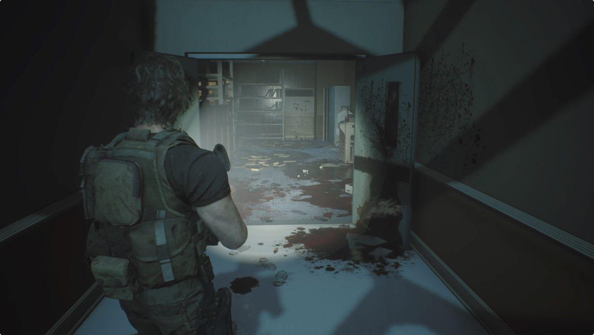 Resident Evil 3 Carlos Hospital Staff Room