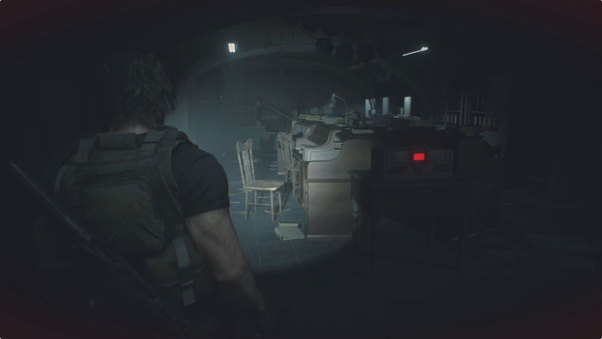 Resident Evil 3 Carlos Police Station West Office