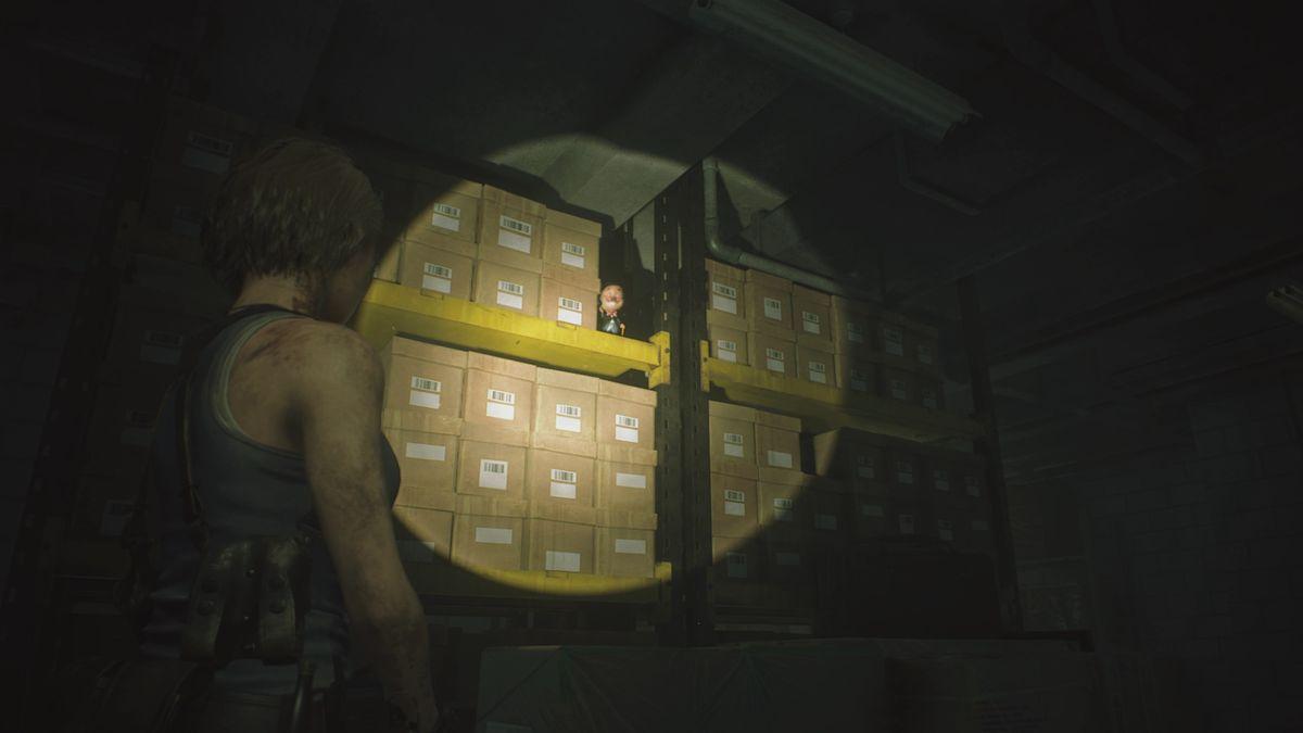 Resident Evil 3 Drugstore Owner's safe Charlie Doll