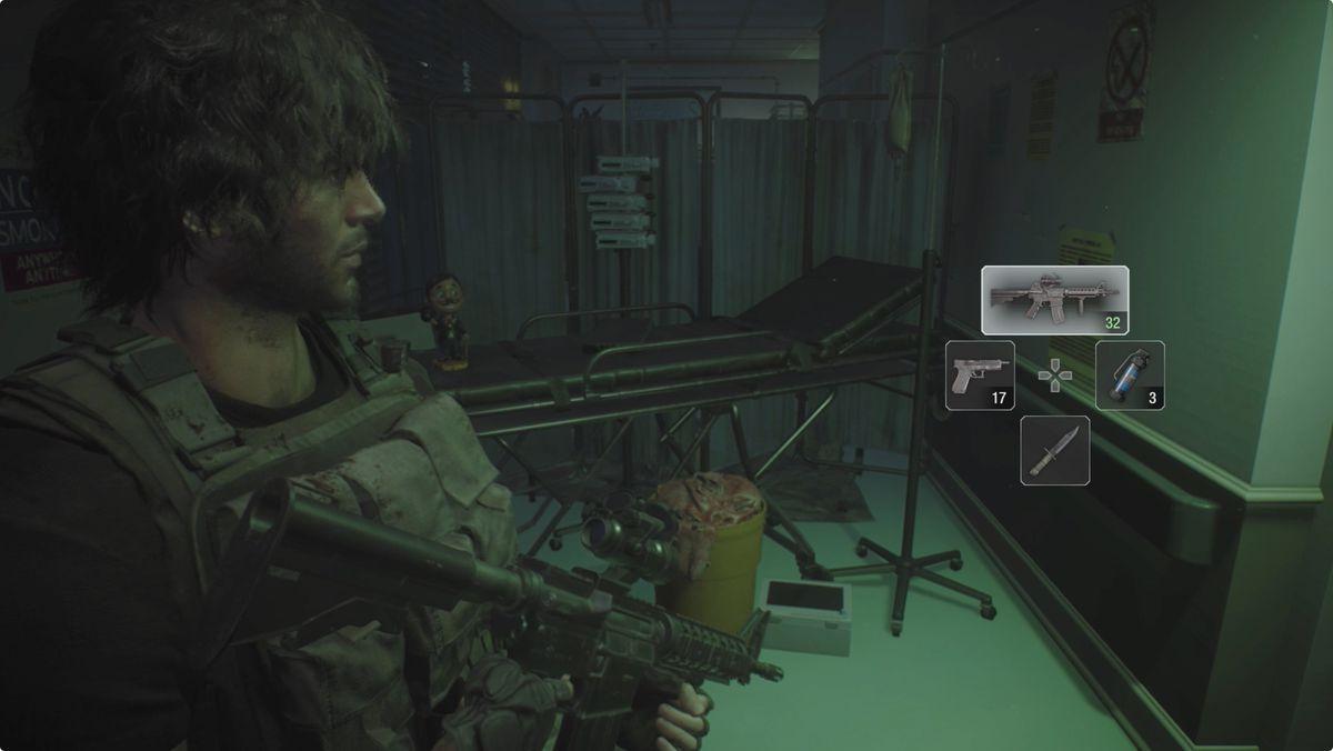 Resident Evil 3 Hospital 1F Charlie Doll