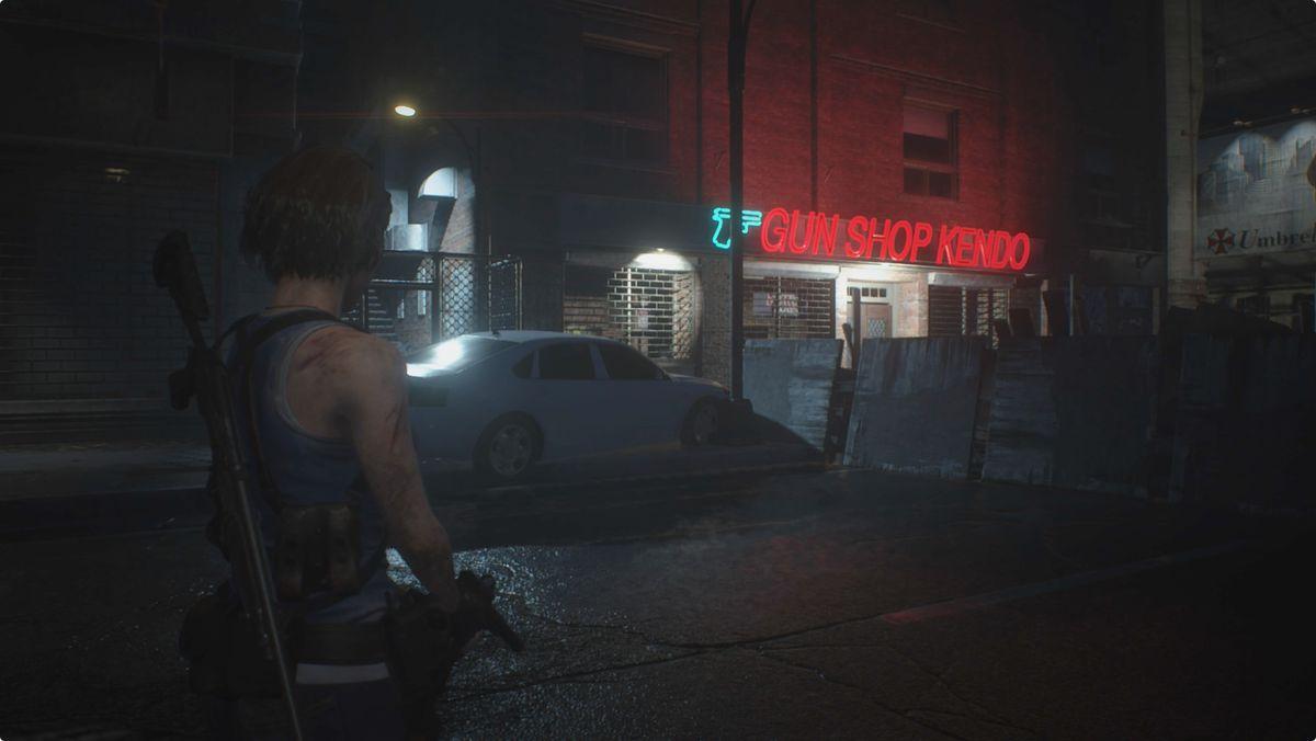 Resident Evil 3 Gun Shop Kendo