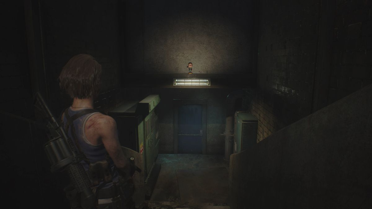 Resident Evil 3 Sewers Charlie Doll