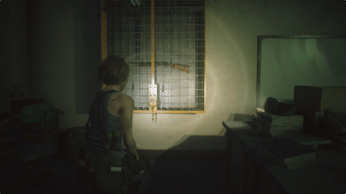 Resident Evil 3 walkthrough Shotgun location