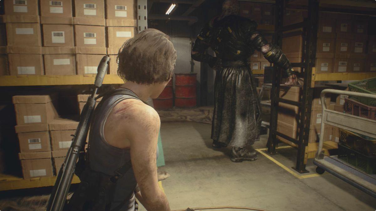 Resident Evil 3 Subway Office Nemesis