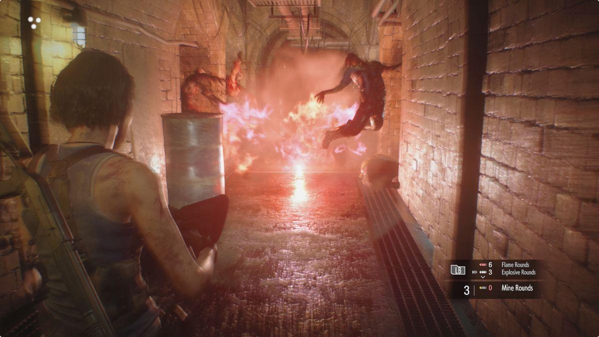 Resident Evil 3 Subway Tunnels Charlie Doll