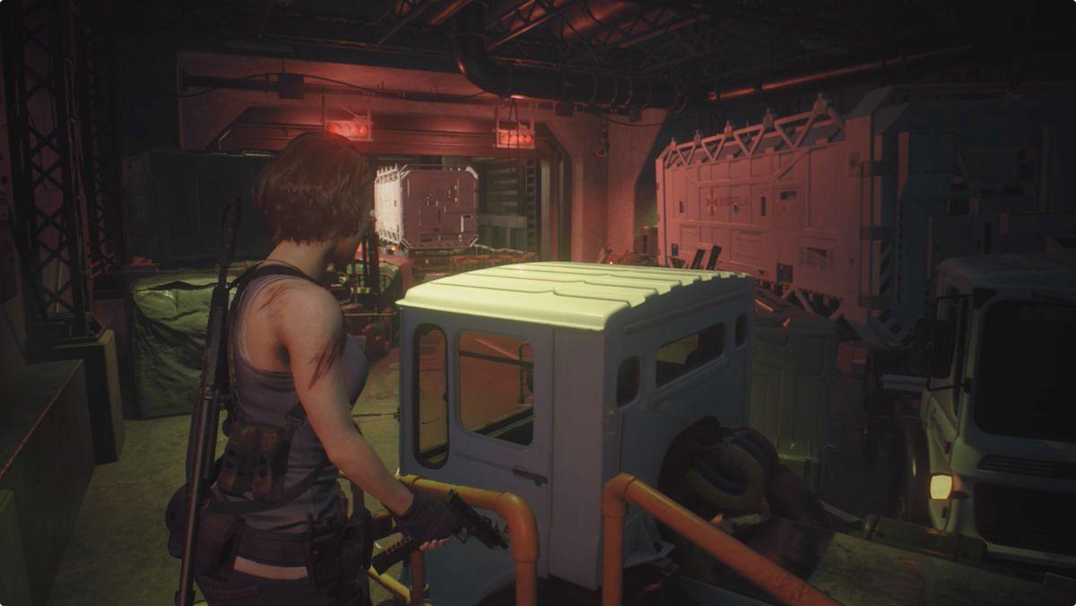 Resident Evil 3 Underground Storage
