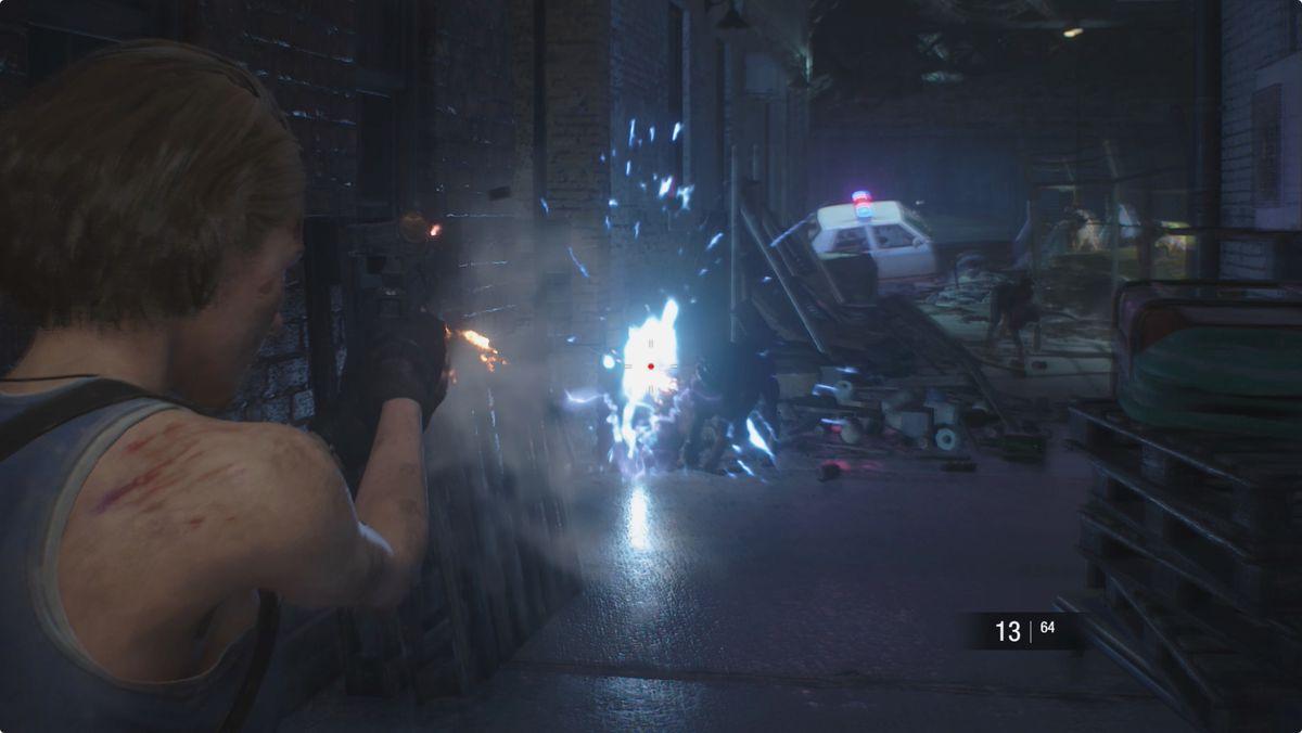 Resident Evil 3 walkthrough generator dogs Shotgun