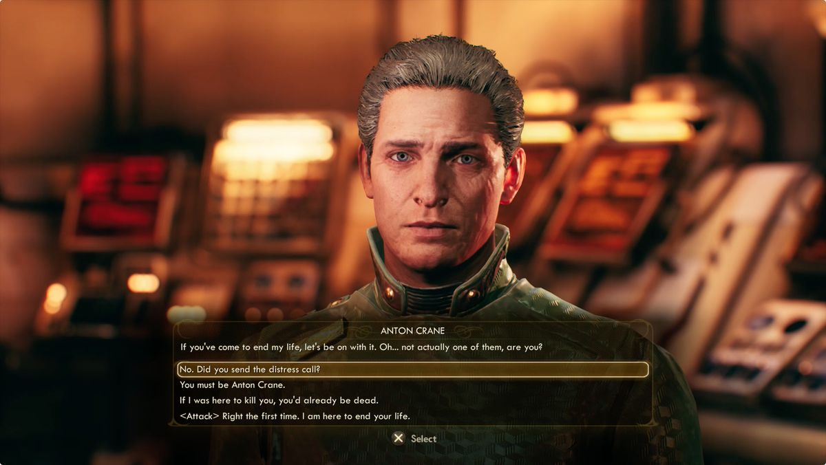 The Outer Worlds Distress Signal Anton Crane