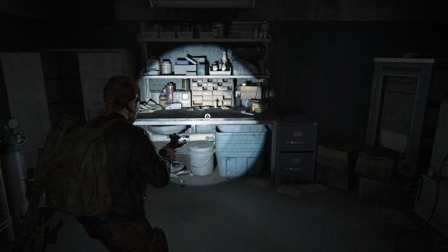 The Last of Us 2 Ground Zero Collectibles Guide Workbench 1