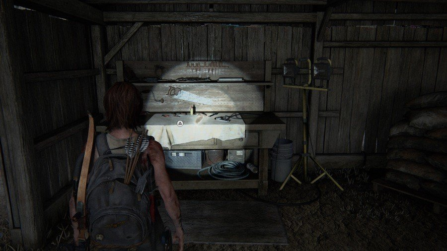 The Last of Us 2 The Resort Collectibles Guide Workbench 1