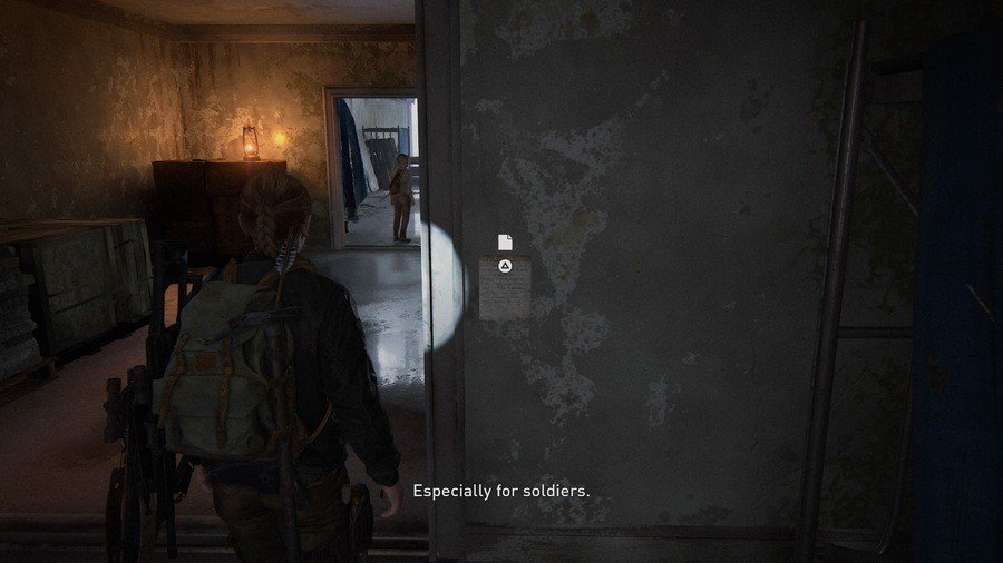 The Last of Us 2 The Shortcut Collectibles Guide Artefact 5