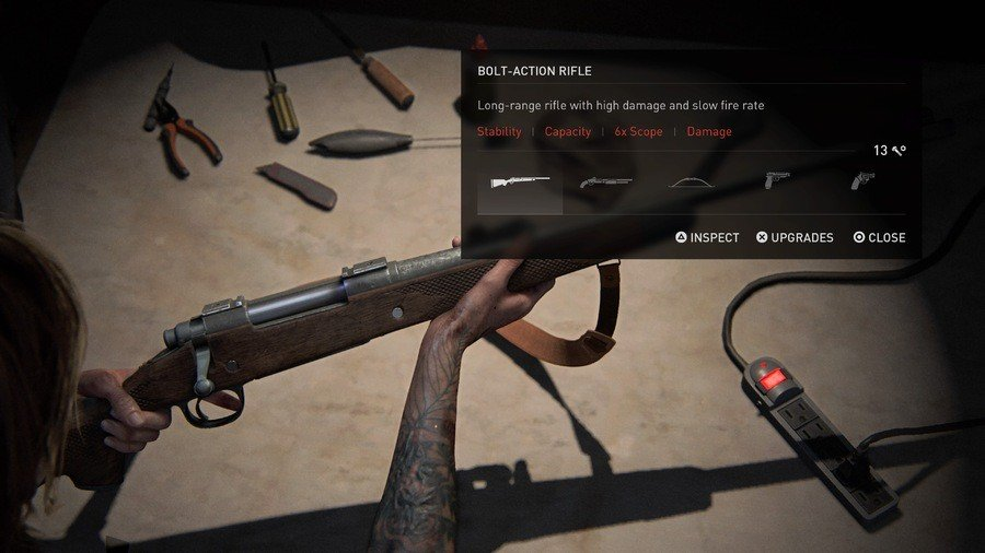 The Last of Us 2 Weapons Guide Bolt Action Rifle
