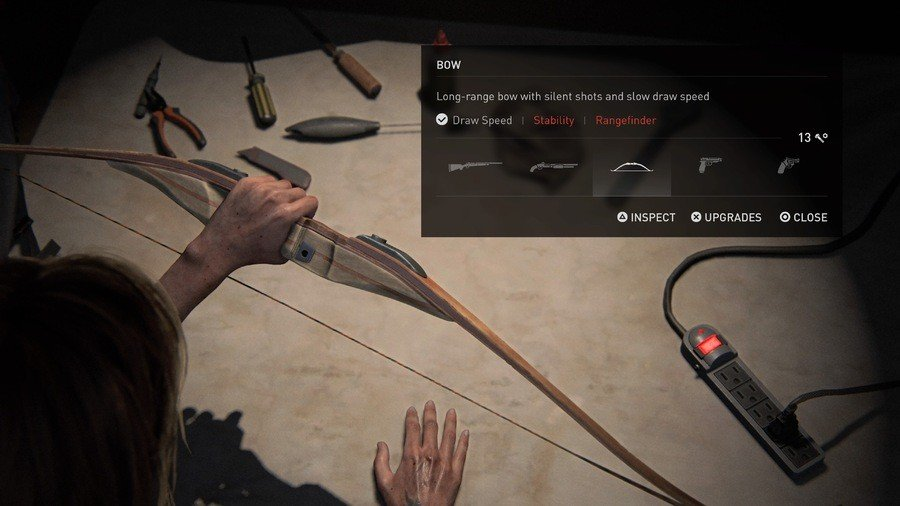 The Last of Us 2 Weapons Guide Bow