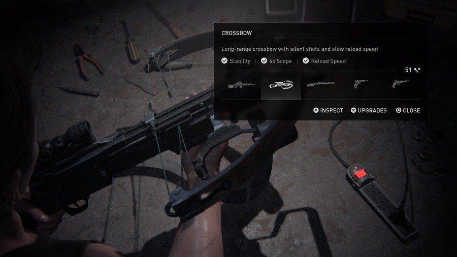 The Last of Us 2 Weapons Guide Crossbow