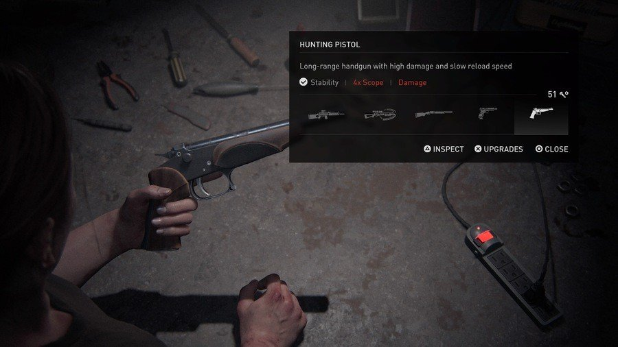 The Last of Us 2 Weapons Guide Hunting Pistol
