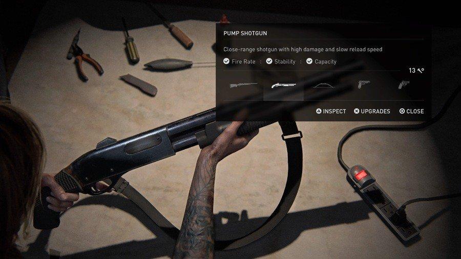 The Last of Us 2 Weapons Guide Pump Shotgun