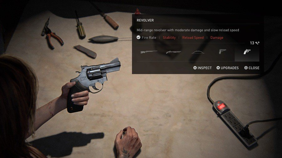 The Last of Us 2 Weapons Guide Revolver