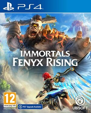 Immortals Fenyx Rising PS4 PlayStation 4 Box Art