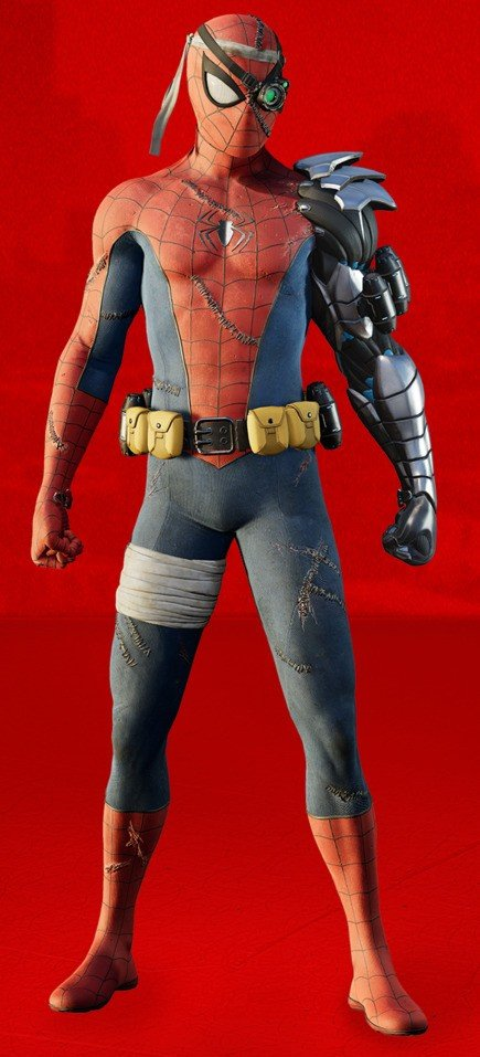 Cyborg Spider-Man Suit