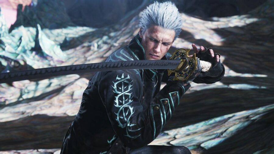 Devil May Cry 5 Special Edition Vergil PS5 PlayStation 5