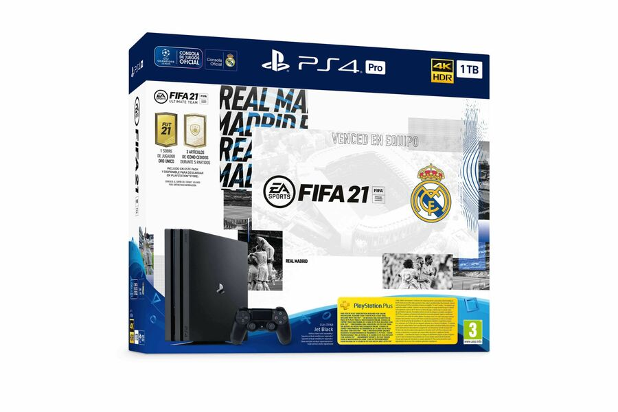 Real Madrid PS4 Pro 1