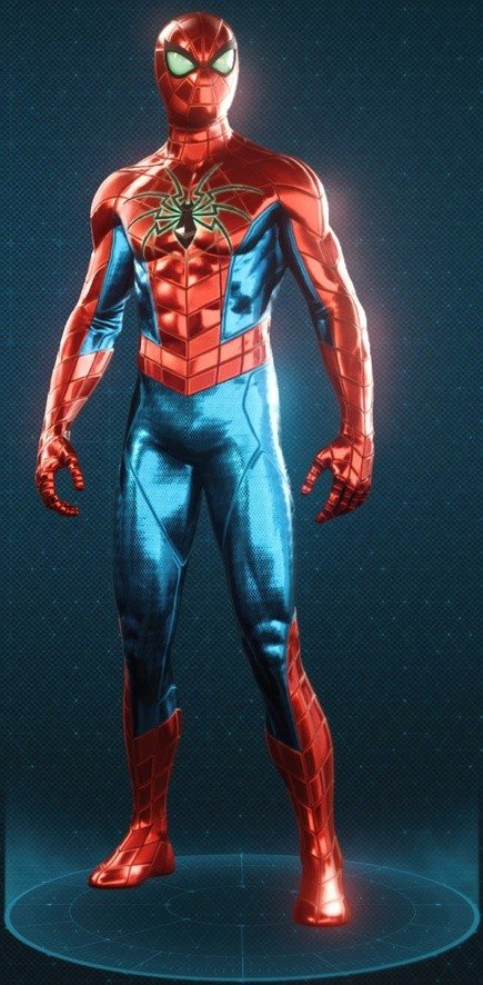 Spider Armour - MK IV Suit