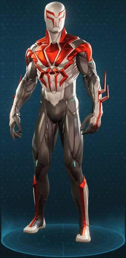 Spider-Man 2099 White Suit