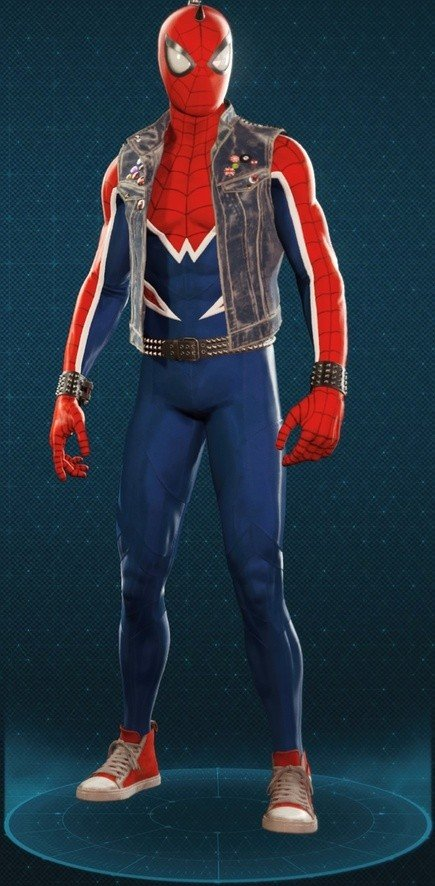 Spider-Punk Suit