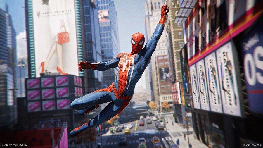 Swing like a superstar in Marvel%image_alt%27s Spider-Man