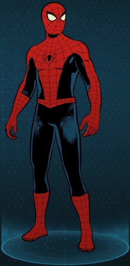 Vintage Comic Book Suit